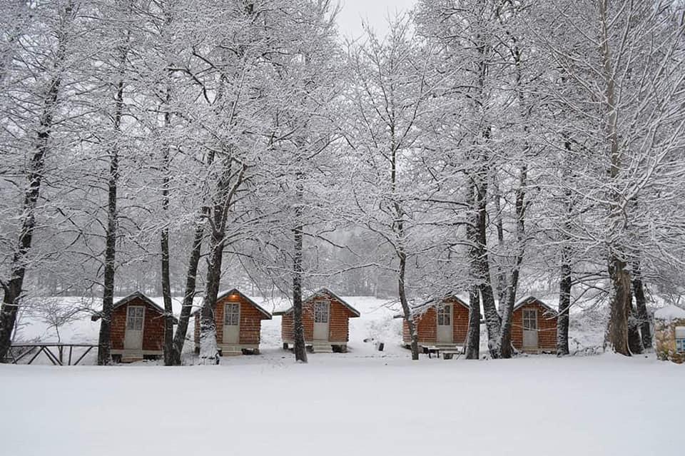 Voskopoja in winter