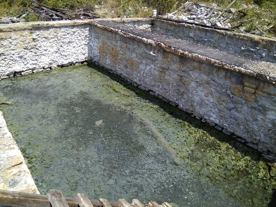 Old thermal Baths, Vronomero, Leskovik