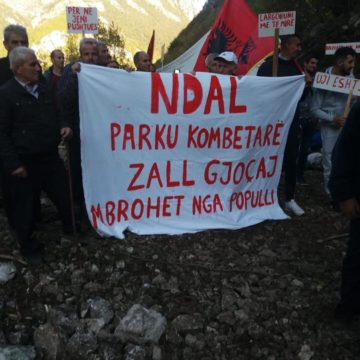 Zall-Gjocaj Inhabitants Continue Protest against HPP Projects