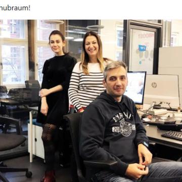 Zana Startup Resident at Hubraum Tech Incubator